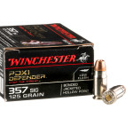 20 Rounds of .357 SIG Ammo by Winchester PDX1 Defender - 125gr JHP