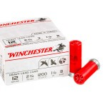 100 Rounds of 12ga Ammo by Winchester - 1 1/8 ounce #8 shot
