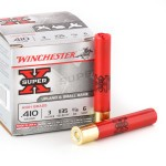 25 Rounds of .410 Ammo by Winchester - 11/16 ounce #6 shot