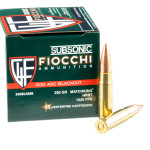 25 Rounds of 300 AAC Blackout Ammo by Fiocchi - 220gr HPBT MatchKing