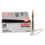 20 Rounds of .308 Win Ammo by Federal LE Tactical - 165gr Bonded SP