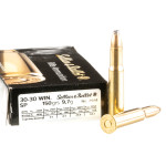 500 Rounds of 30-30 Win Ammo by Sellier & Bellot - 150gr SP