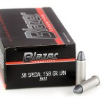 50 Rounds of .38 Spl Ammo by CCI - 158gr LRN