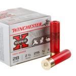 "25 Rounds of 28ga Ammo by Winchester Super-X - 2 3/4"" 3/4 ounce #6 shot"