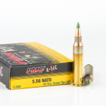 120 Rounds of 5.56x45 Ammo by PMC - 62gr FMJ M855 in Battle Packs