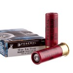 5 Rounds of 12ga Ammo by Federal - 1 1/4 ounce Rifled Slug