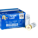 250 Rounds of 12ga Ammo by Rio Target Load Light - 7/8 ounce #7.5 shot