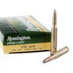 20 Rounds of .270 Win Ammo by Remington - 150gr SP