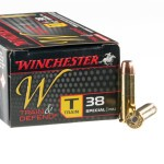 50 Rounds of .38 Spl Ammo by Winchester - 130gr FMJ