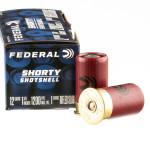 "10 Rounds of 12ga Ammo by Federal Shorty Shotshell - 1-3/4"" 1 ounce rifled slug"