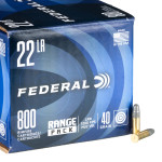 800 Rounds of .22 LR Ammo by Federal Champion - 40gr LRN