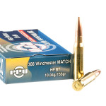 200 Rounds of .308 Win Ammo by Prvi Partizan Match - 155gr HPBT