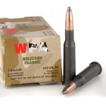 20 Rounds of 7.62x54r Ammo by Wolf Military Classic - 203gr SP