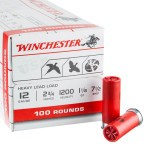 100 Rounds of 12ga Ammo by Winchester - 1 1/8 ounce #7 1/2 shot