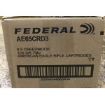 200 Rounds of 6.5 Creedmoor Ammo by Federal American Eagle - 120gr TMJ