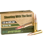 50 Rounds of 7.62x51 Ammo by IMI - 150gr FMJ