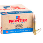 1200 Rounds of 5.56x45 Ammo by Hornady Frontier - 55gr FMJ M193