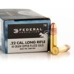 500 Rounds of .22 LR Ammo by Federal Game Shok - 40gr CPRN