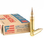 500 Rounds of 5.56x45 Ammo by Hornady Frontier - 55gr HP Match