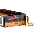 1000 Rounds of .32 ACP Ammo by PMC - 60gr JHP
