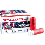 250 Rounds of 12ga Ammo by Winchester USA Game & Target - 1 ounce #8 shot