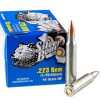 500  Rounds of .223 Ammo by Silver Bear - 55gr HP