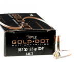 357 Sig - 125 gr GDHP - Speer Gold Dot - 50 Rounds