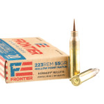 20 Rounds of .223 Ammo by Hornady Frontier - 55gr HP Match