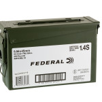400 Rounds of 5.56x45 Ammo by Federal American Eagle in Ammo Can - 55gr FMJ