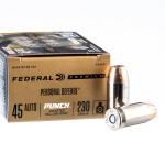 20 Rounds of .45 ACP Ammo by Federal Punch - 230gr JHP