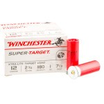 "25 Rounds of 12ga 2-3/4"" Ammo by Winchester Super Target -  #7 1/2 shot"