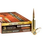 200 Rounds of 6.5 mm Creedmoor Ammo by Federal Gold Medal Berger - 130gr OTM