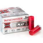 250 Rounds of 12ga Ammo by Winchester - 1 1/8 ounce #7 Shot (Steel)