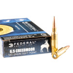 20 Rounds of 6.5 Creedmoor Ammo by Federal Power-Shok - 140gr JSP
