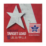 """250 Rounds of 12ga Ammo by Stars & Stripes - 2-3/4"""" 1 ounce #8 shot"""