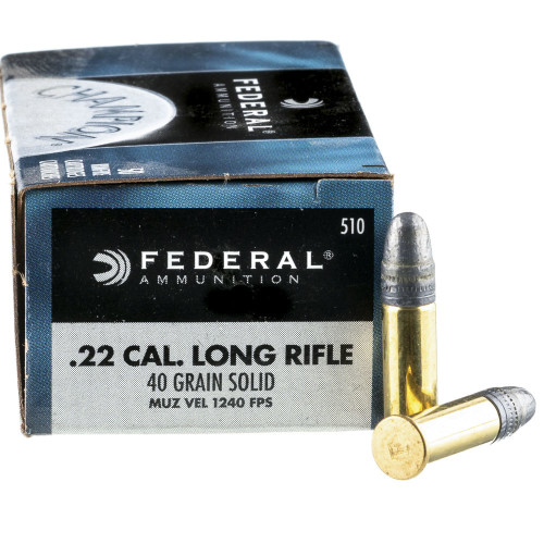 5000 Rounds of  22 LR Ammo by Federal - 40gr LRN