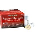 250 Rounds of 12ga Ammo by Fiocchi - 7/8 ounce #7.5 shot