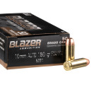 10mm Auto - 180 Grain FMJ - Blazer Brass - 1000 Rounds