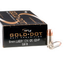 50 Rounds of 9mm Ammo by Speer LE - 124gr JHP