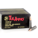 100 Rounds of 7.62x39mm Ammo by Tula - 124gr HP