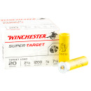 250 Rounds of 20ga Ammo by Winchester - 7/8 ounce #7 1/2 shot