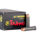 1000 Rounds of .357 Mag Ammo by Tula - 158gr FMJ