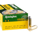 50 Rounds of .45 Long-Colt Ammo by Remington Performance WheelGun - 250gr LRN