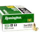 1000 Rounds of 9mm Ammo by Remington - 115gr FMJ
